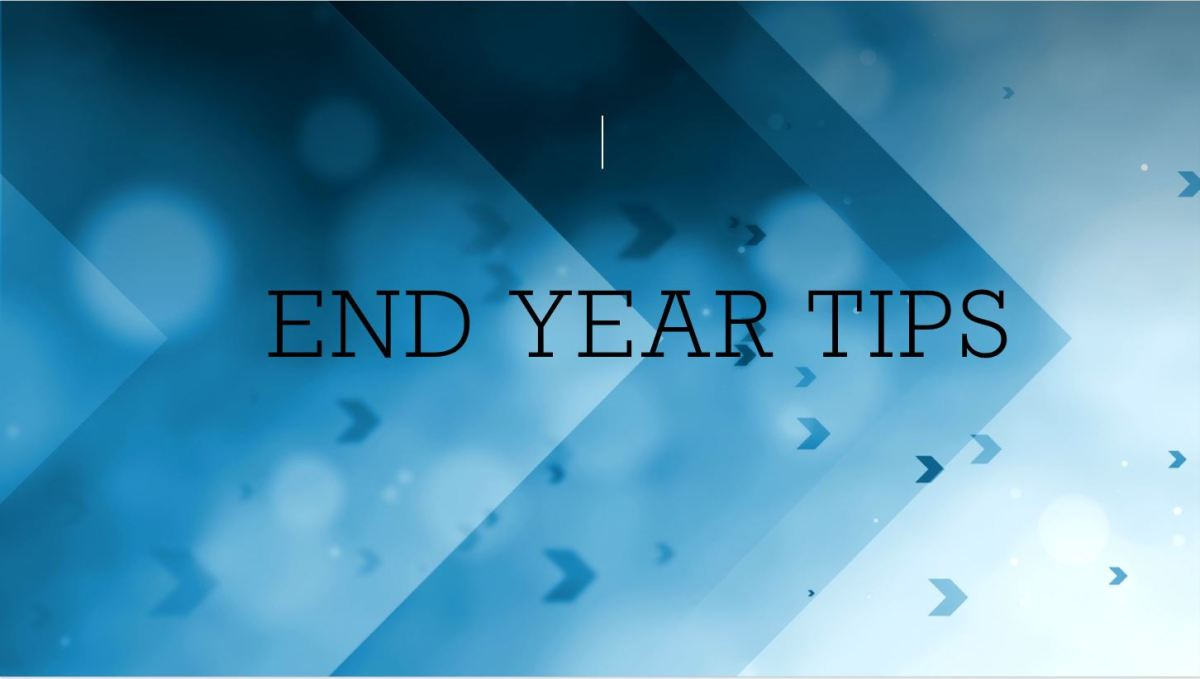 End year tips